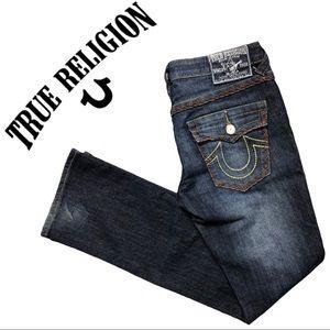 💋2/$30💋 True Religion Skinny Super Jeans Flap